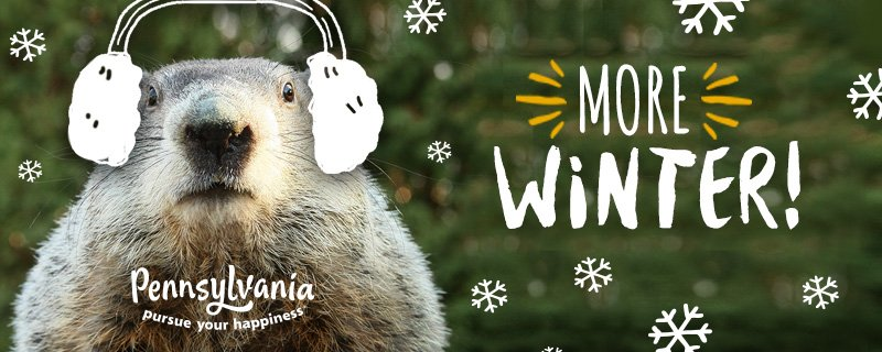 BREAKING: Punxsutawney Phil sees his shadow, predicting #SixMoreWeeks of winter #GroundhogDay. #GHD2017 https://t.co/ap1fitc6Eq