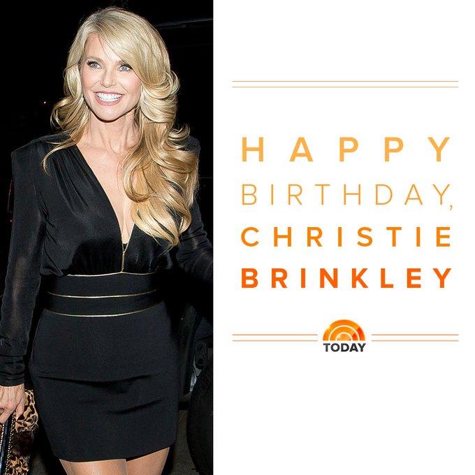 Happy birthday to the beautiful Christie Brinkley!