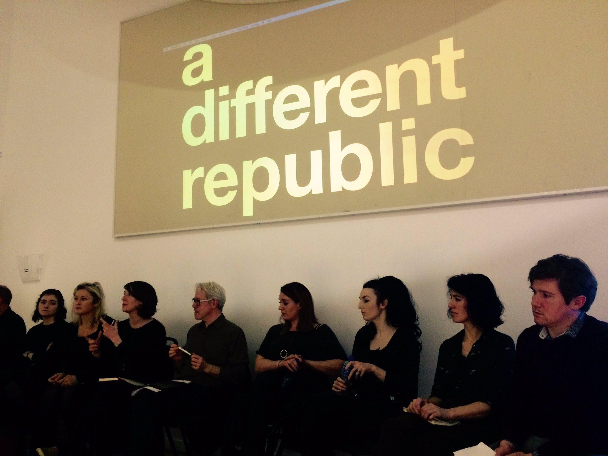 Wonderful seminar @LabDCC yesterday! @ADIarts @FSArtistStudios @janemccormick57 #adifferentrepublic https://t.co/eaFDZUbYkW