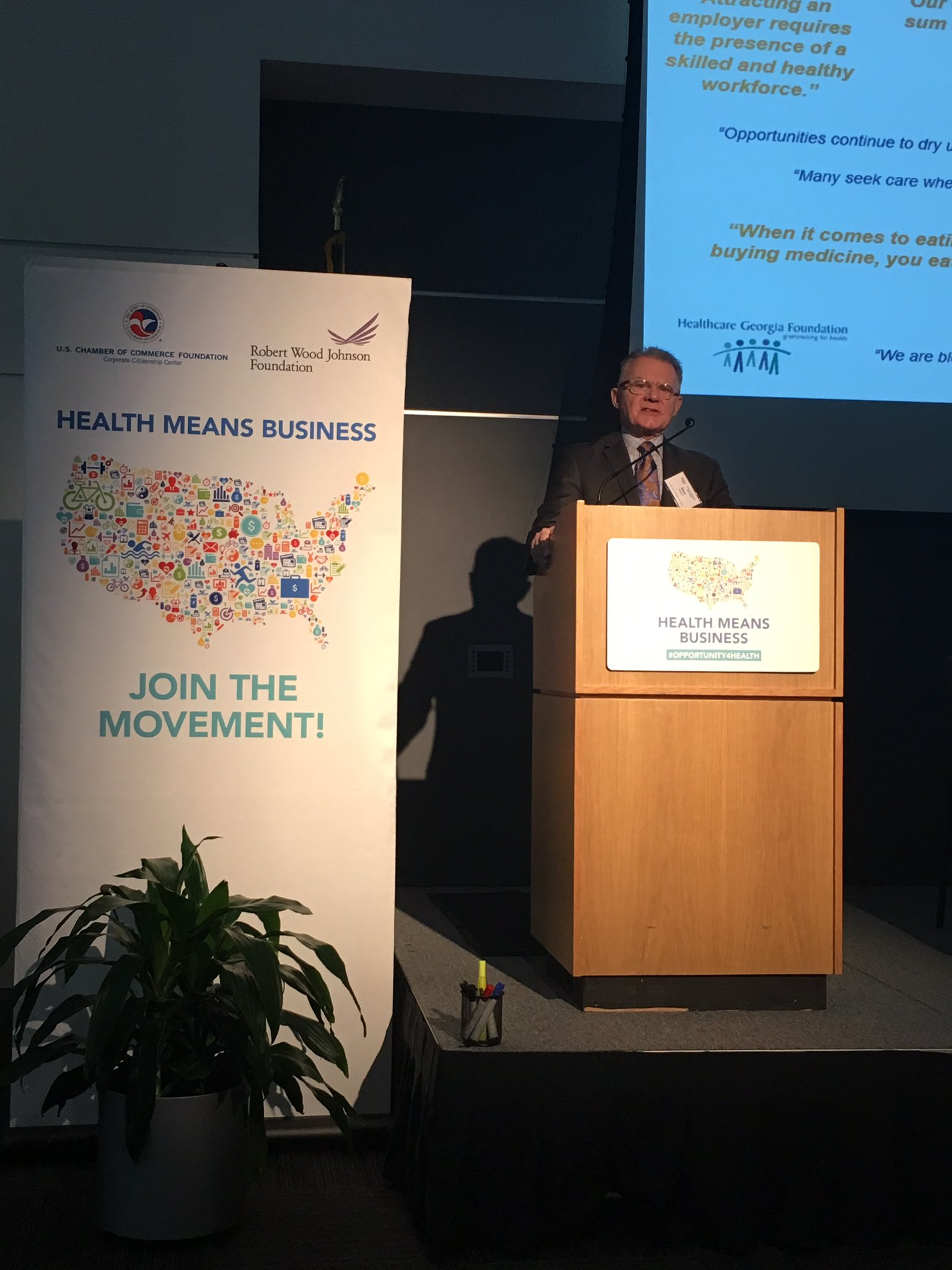 Dr. Nelson kicks off our 12th @HealthMeansBiz Forum in Columbus, GA. #opportunityforhealth https://t.co/c1e6cYs675