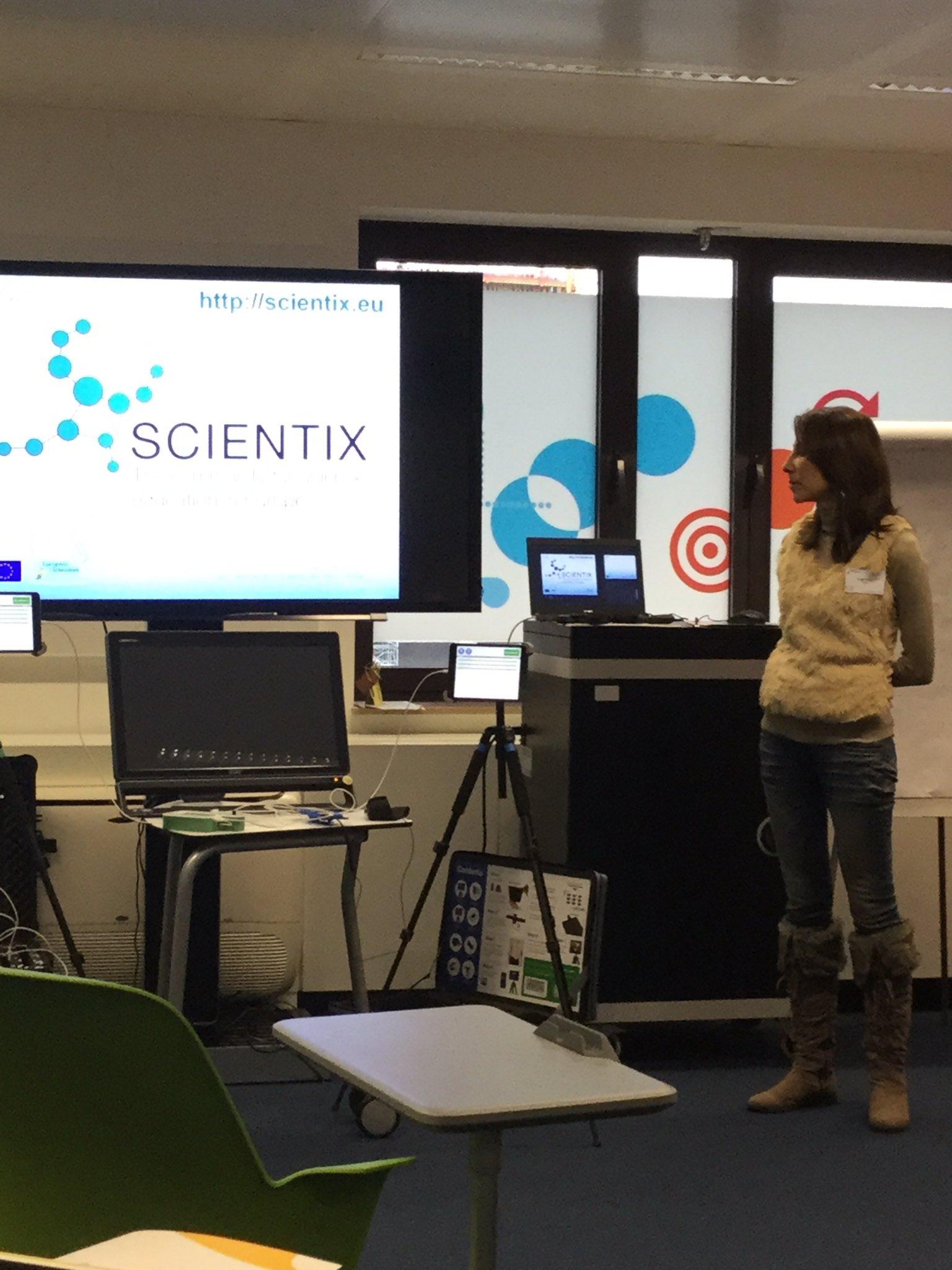 @ArgyriPanagiota introducing to ITC admin workshop one of my preferite project #Scientix #AllSTEMScientix https://t.co/awRlxc8vho