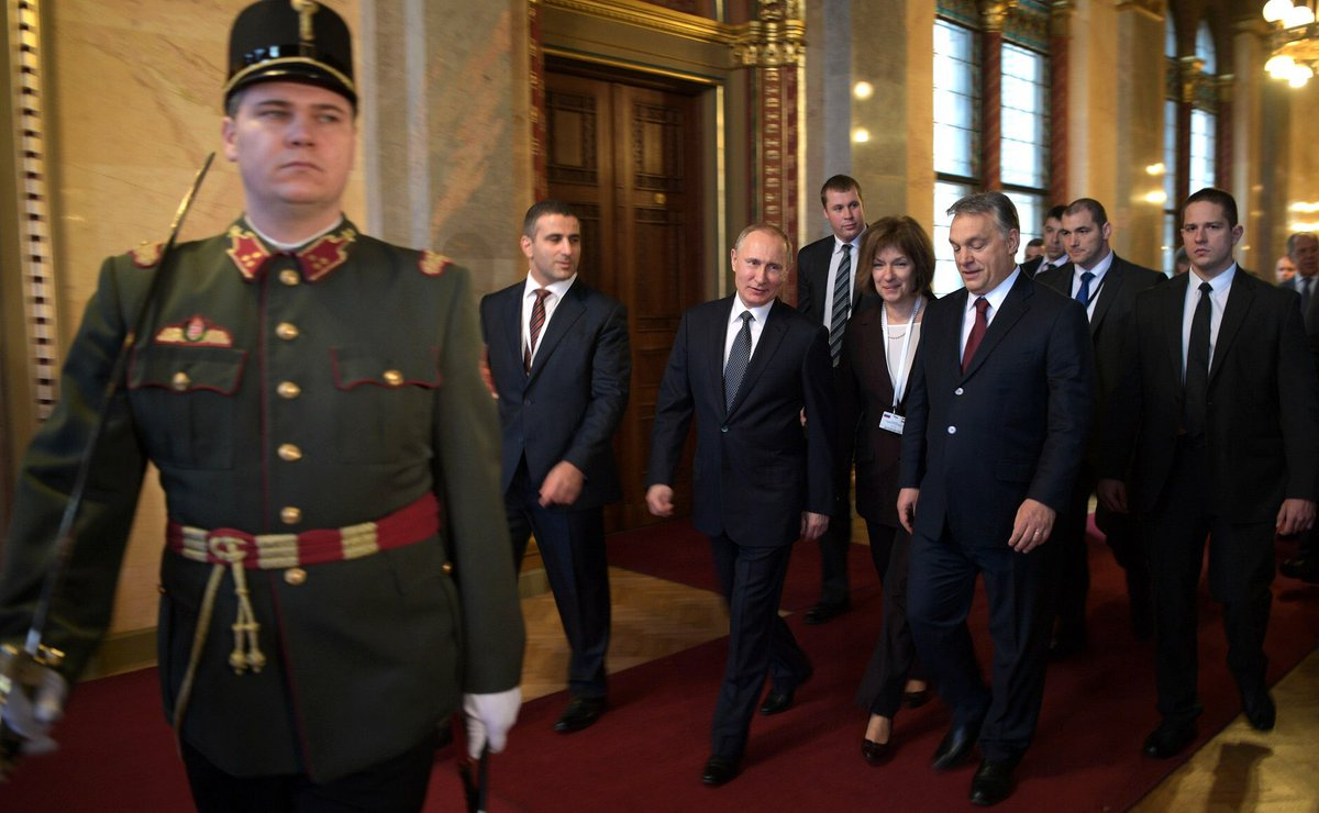 Putin in Hungary: in Budapest talks ended, the Russian and Hungarian delegations will now begin the press conference