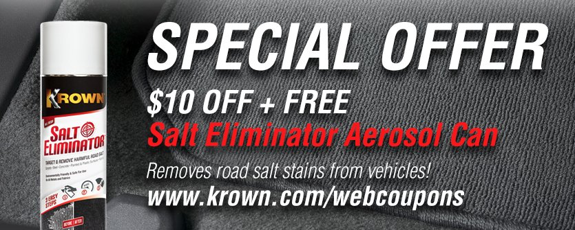 Krown discount coupons
