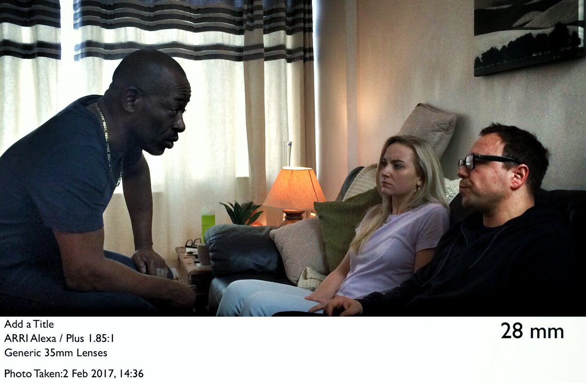 These three: Lennie James, Alice Feetham & Stephen Graham. Great scene today. #Gone #SkyAtlantic