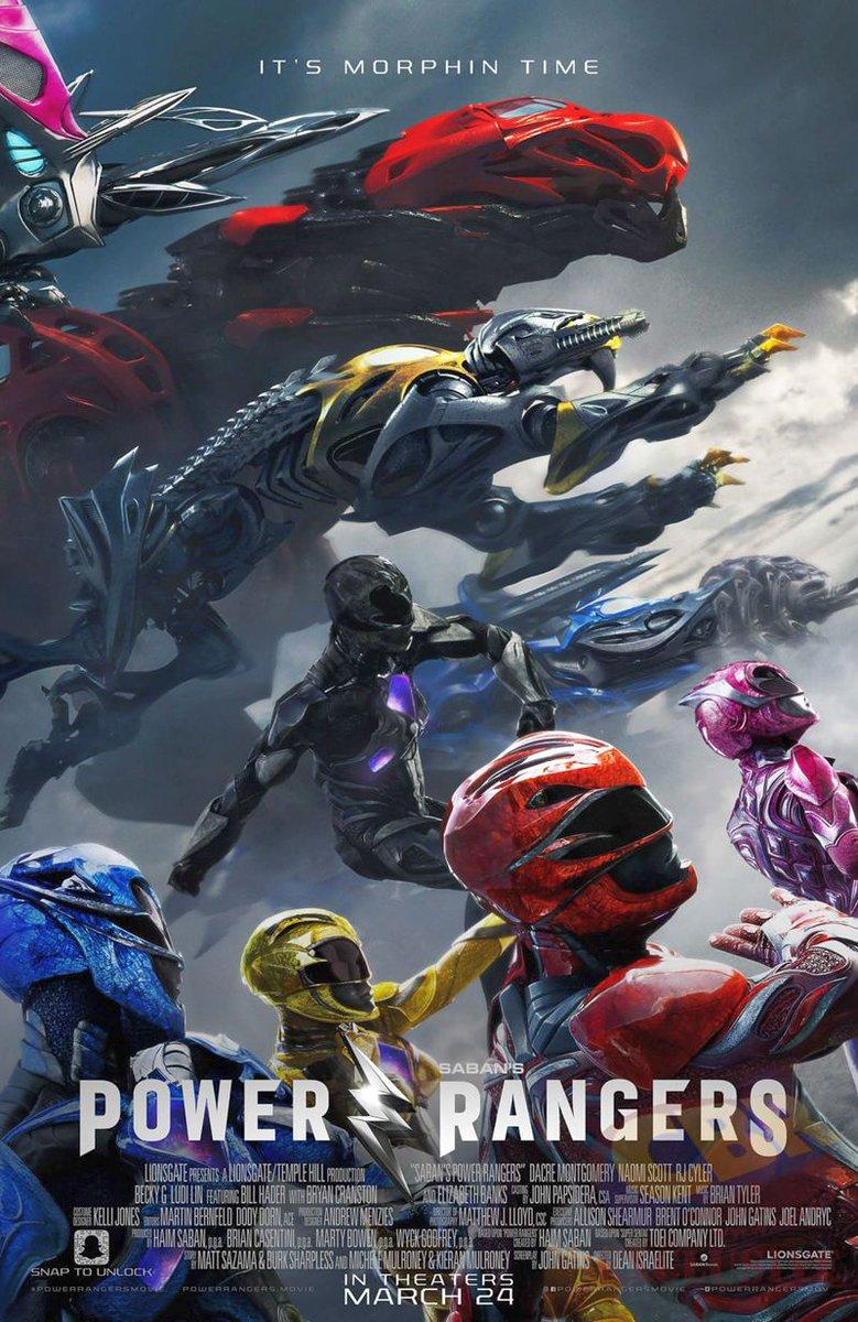 Final Power Rangers Poster