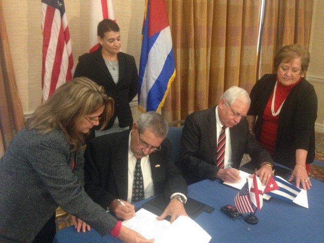 Imagen tomada de la cuenta en twitter del Embajador de Cuba en EE.UU. José Ramón Cabañas