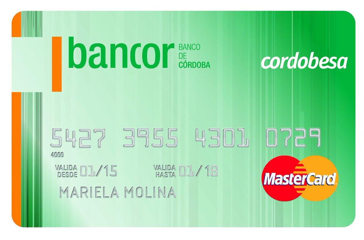 Resultado de imagen para bancor mastercard