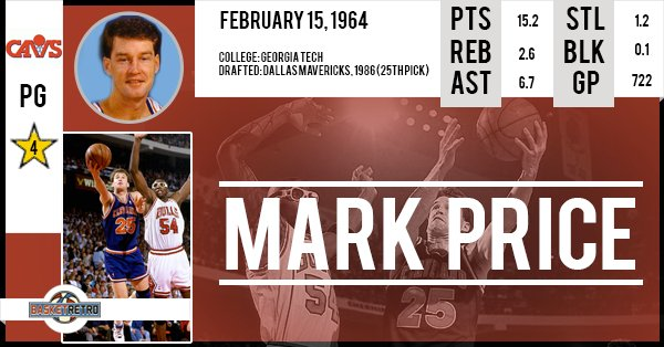 Happy birthday Mark Price !