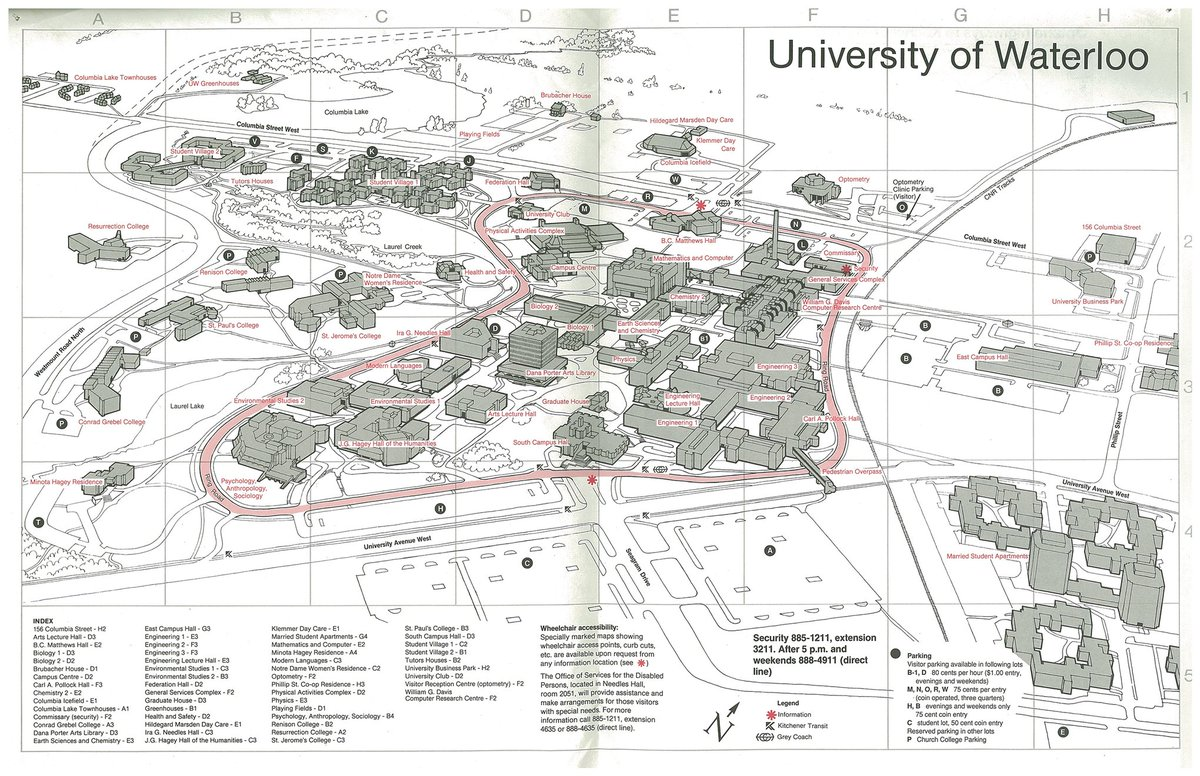 U Waterloo Campus Map.Jack Truong Jacktruong Twitter