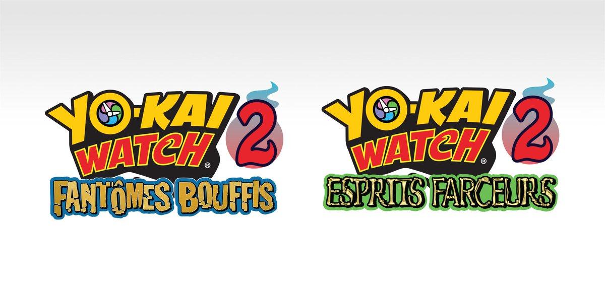 [3DS] Yo-kai Watch 2 : Esprits farceurs et Yo-kai Watch 2 : Fantômes bouffis datés en Europe !