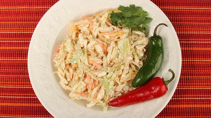 Low-Carb Gluten-Free Flavorful Mexicali Cole Slaw