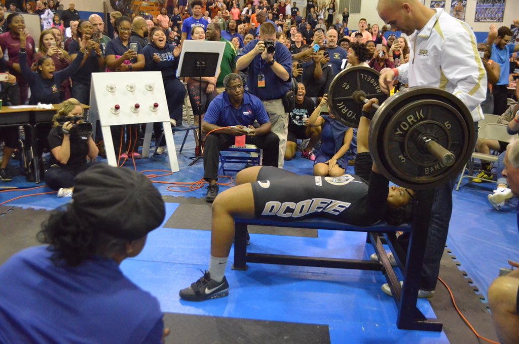 Fhsaa On Twitter Breaking A New Girls Weightlifting Fhsaa Finals