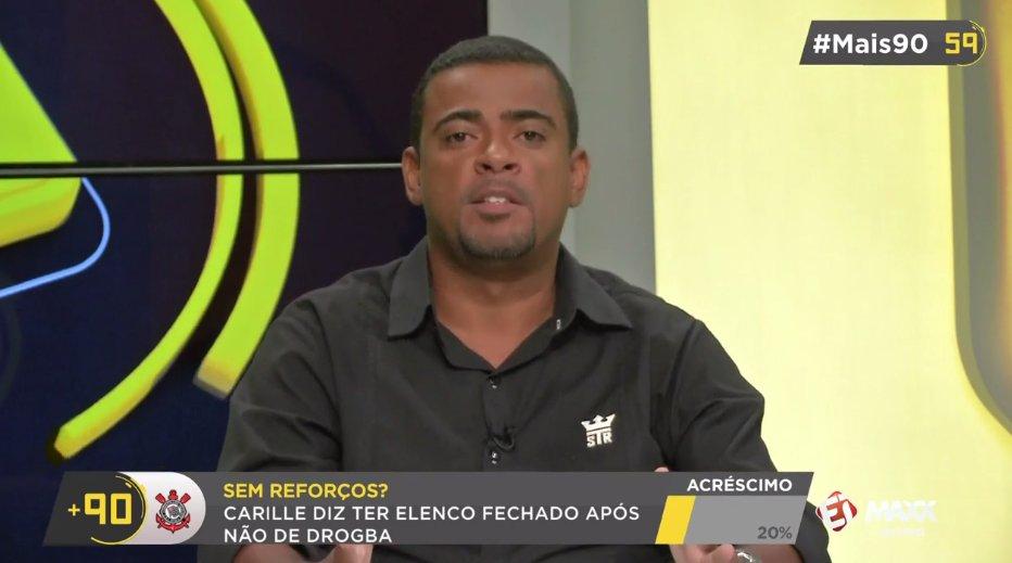 c734c1f95b Ademir Quintino   Hoje o Corinthians é a quarta força do futebol de São  Paulo