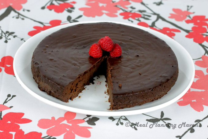 Dark Chocolate Oblivion Torte