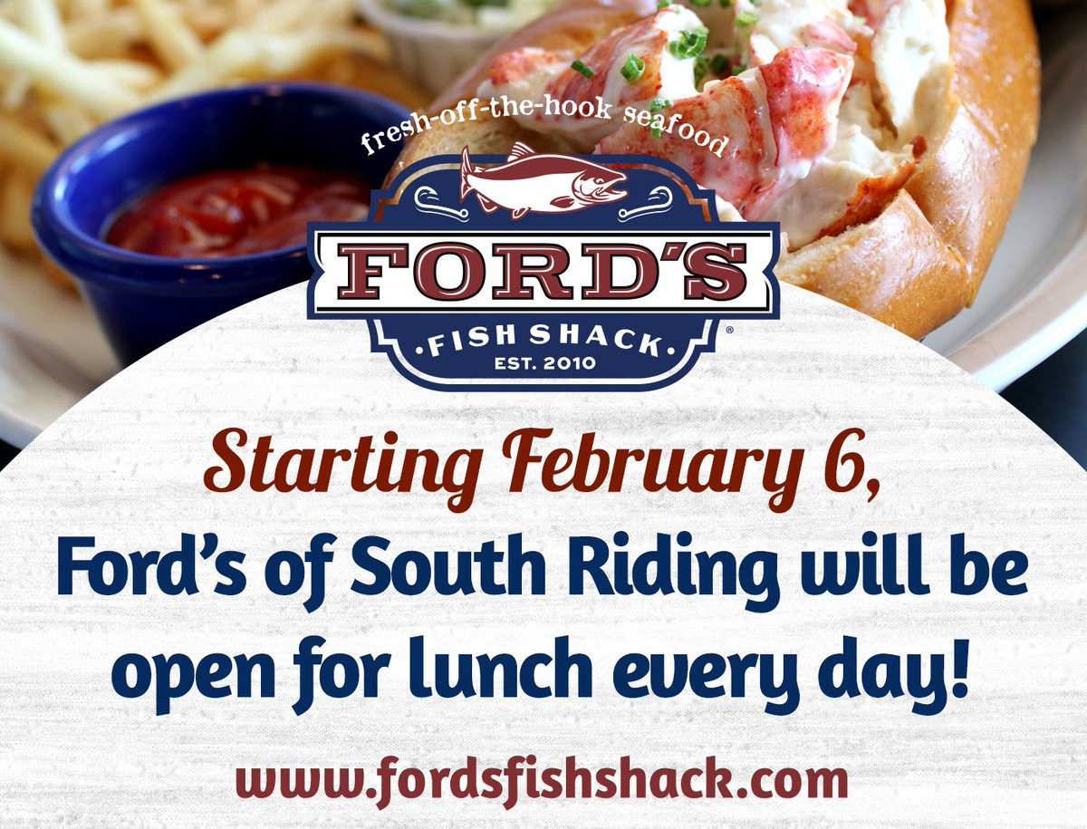 164d1700609 Ford s Fish Shack on Twitter