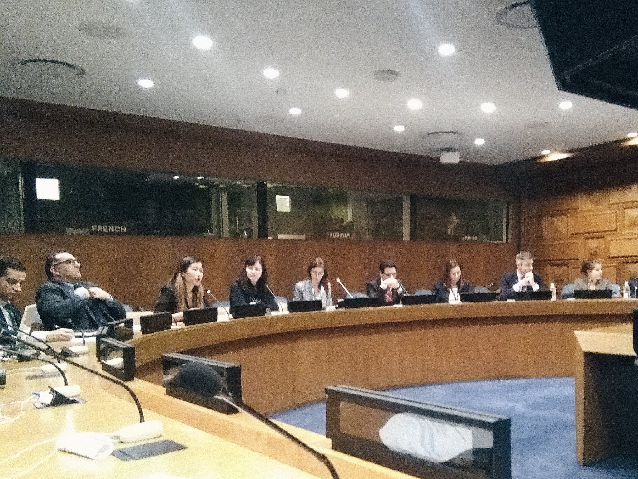 @zuzana_vuova giving an inside look on how Youth Delegates work. Let's get more programmes started! @UN4Youth #CSocD55 https://t.co/GYTXFYsuBf