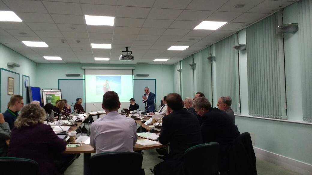 Mike Walton offers a 'super hero' cape to leaders willing to lead on the challenges Exeter faces. #ExeterBoard #cycling https://t.co/sSRz88GP3w