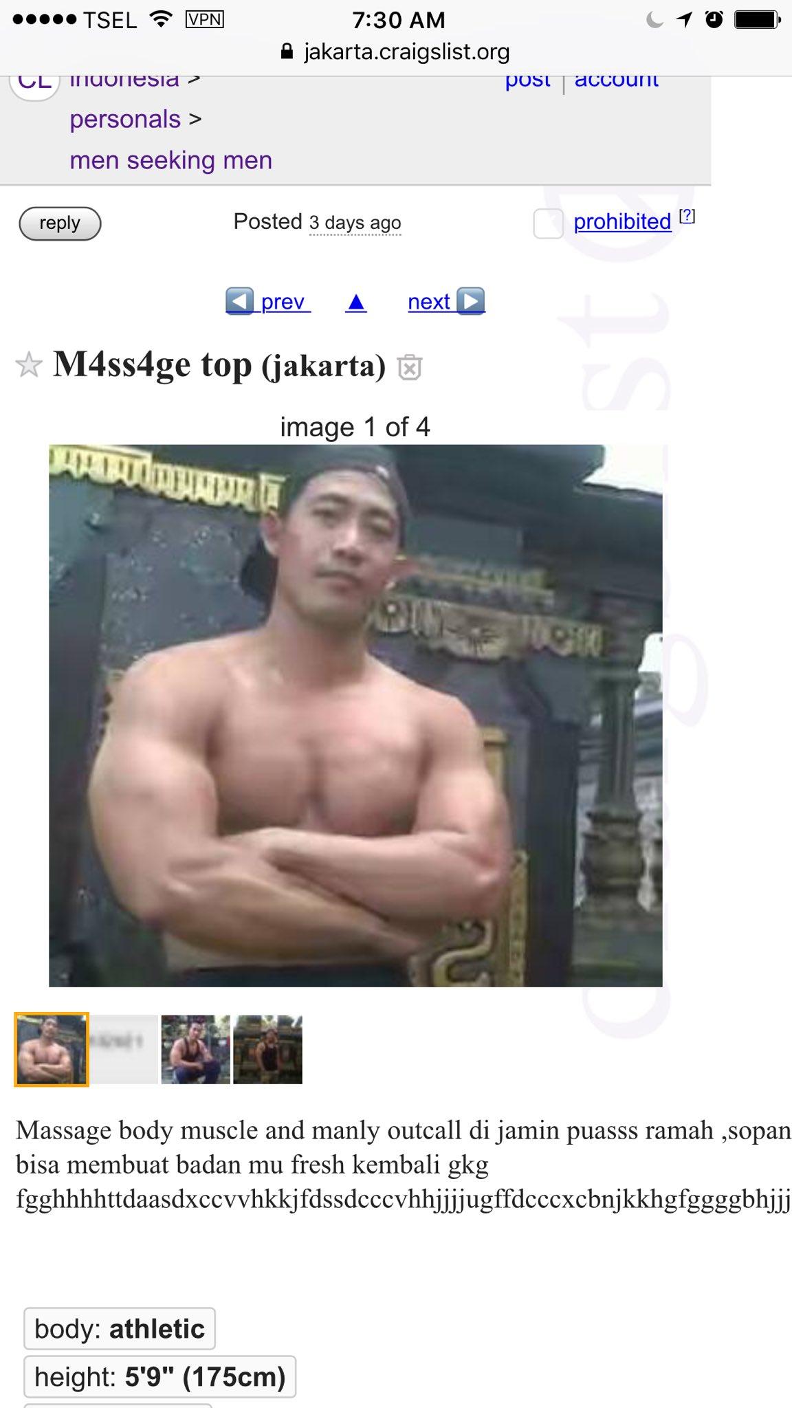 Men seeking men indonesia