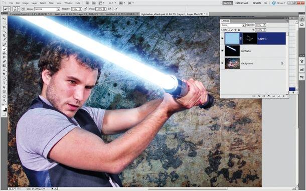 Como criar um sabre laser no Photoshop https://t.co/L8NpZGI6Pz https://t.co/6xcd6wNF7e