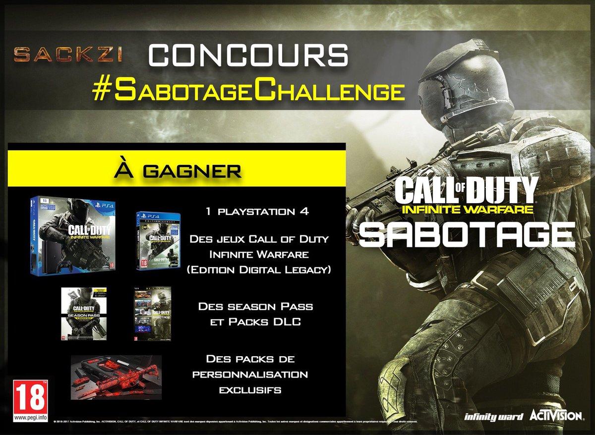 #RT ET FOLLOW @Sackzi SI TU VEUX GAGNER DES CADEAUX !!!! #SabotageChallenge !!!!