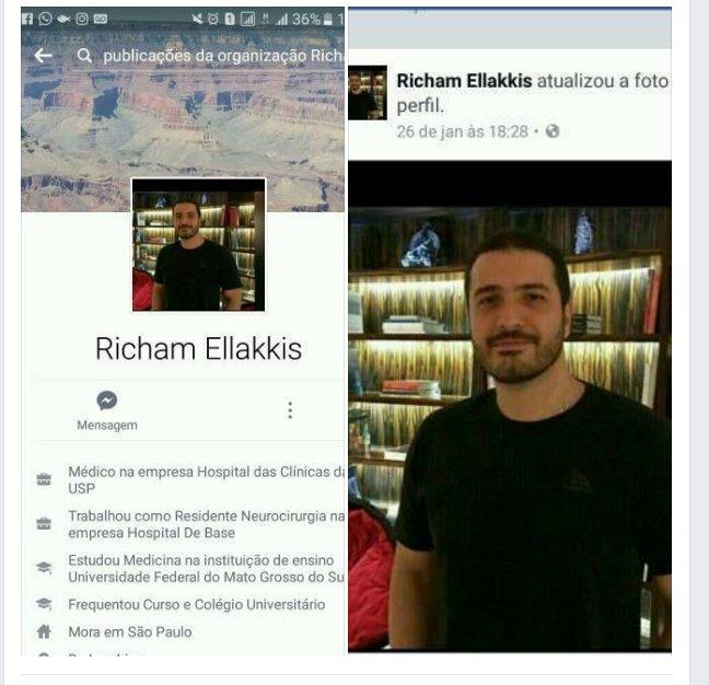 Resultado de imagem para Richam Faissal Ellakkis