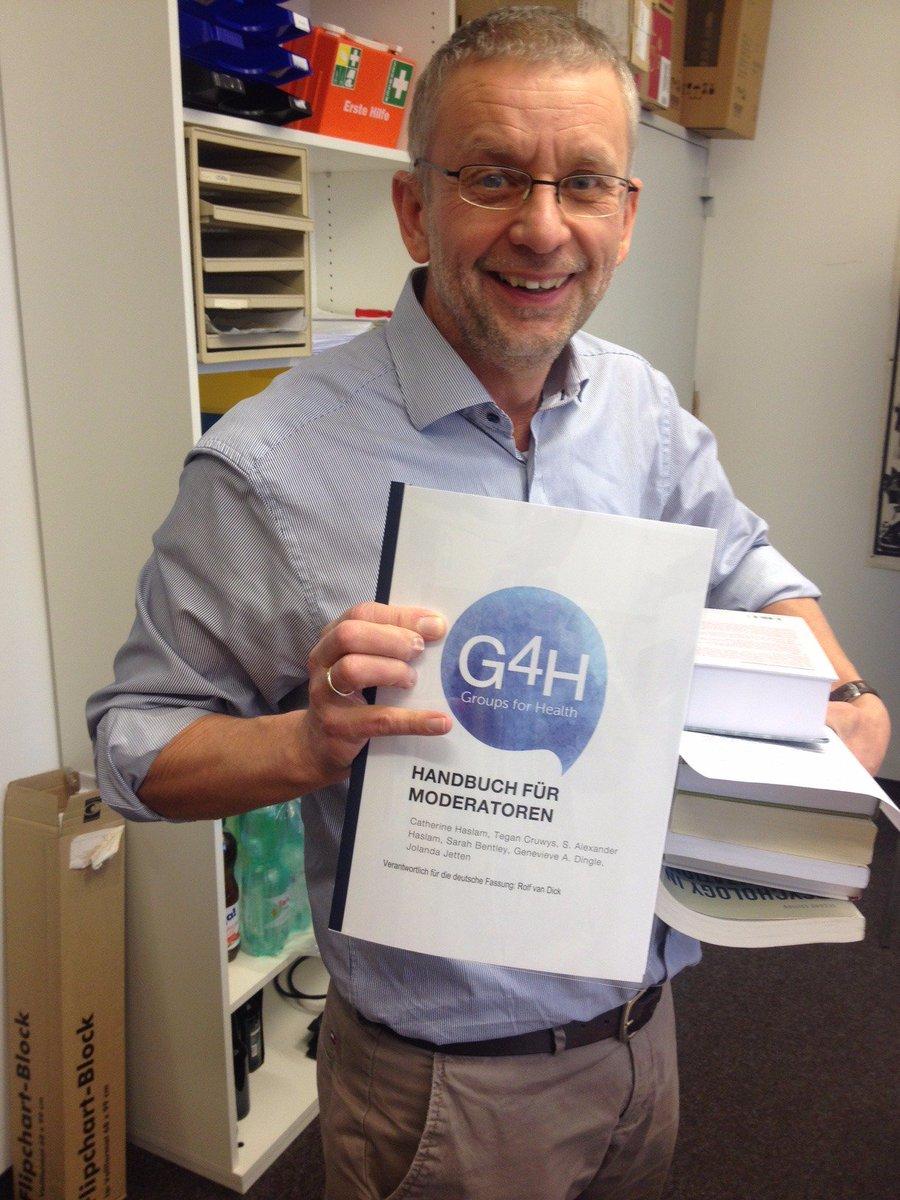 Rolf Frankfurt alex haslam on rolf is starting major trial of