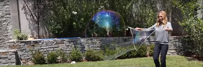 How To Make Your Own Giant Bubbles
