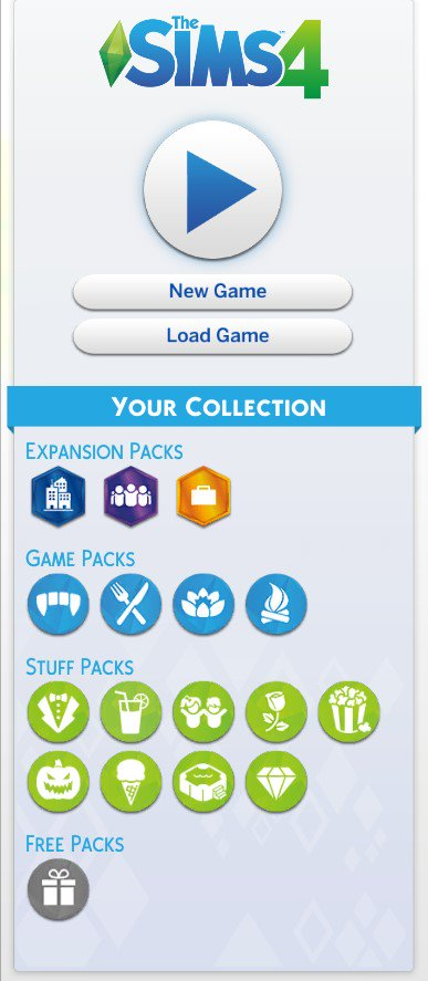 Show off your pack collections! — The Sims Forums
