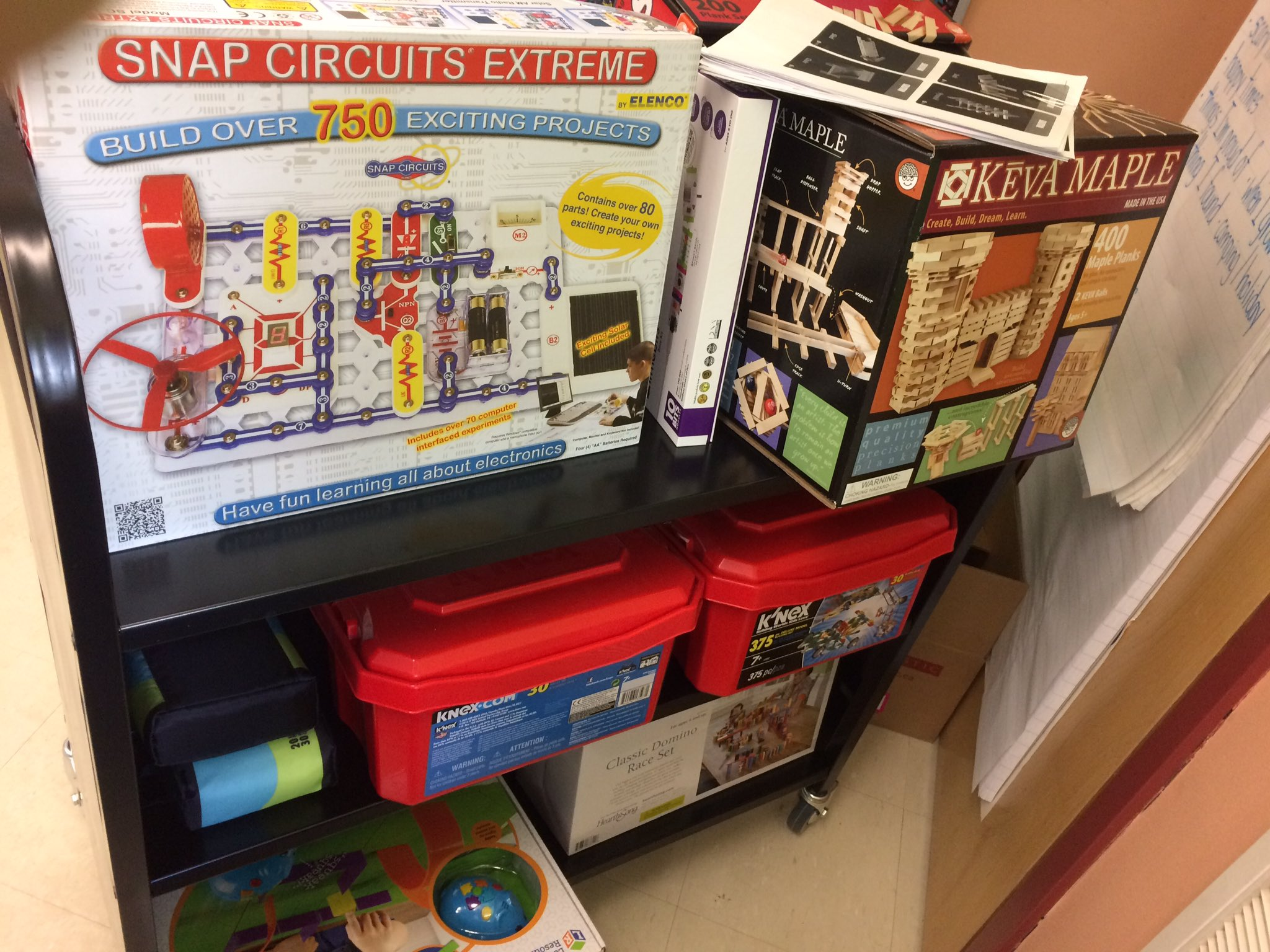 Craig Mah On Twitter Look At This Coding Cart Ready To Go Snap Circuits Extreme Makerspace Edtech Bcedchat Thanks Waltonsd43pac Specialke2 Tootlepootle