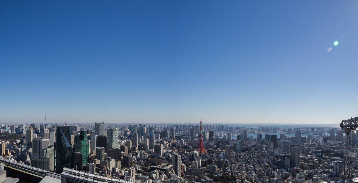 富士山方面、東京タワー方面ともに素晴らしい日本晴れですが、 残念ながら強風のため、スカイデッキは(2…