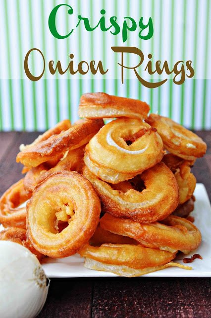 5 Days of Super Bowl Eats! Crispy Onion Rings