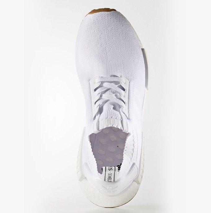 Adidas Paquete De Goma De Mascar Nmd R1 Primeknit - Blanco XifFcsaW