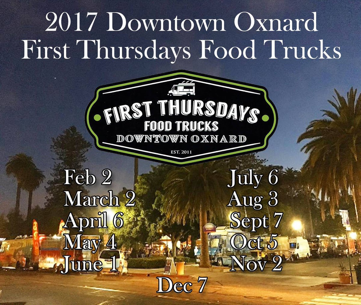 Food Trucks Plaza Park Oxnard