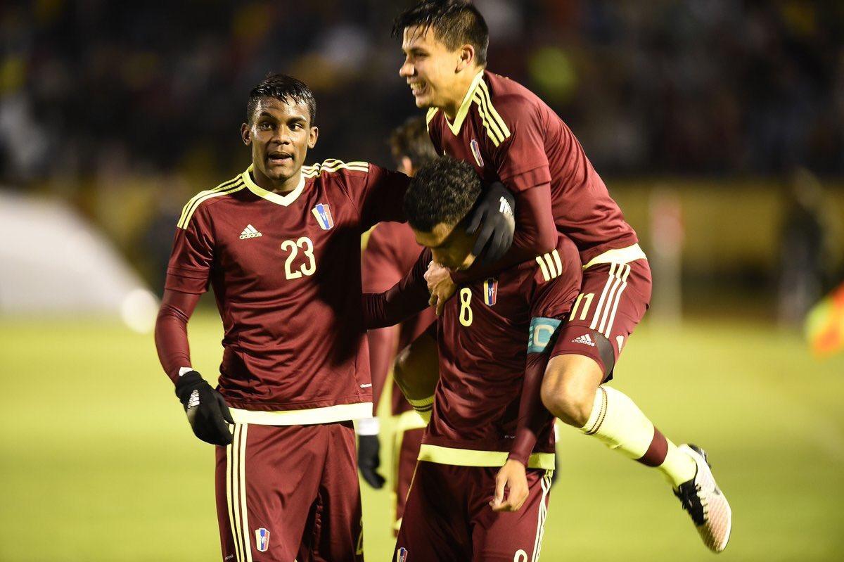 Venezuela obtiene su primer triunfo en final de Sudamericano sub 20