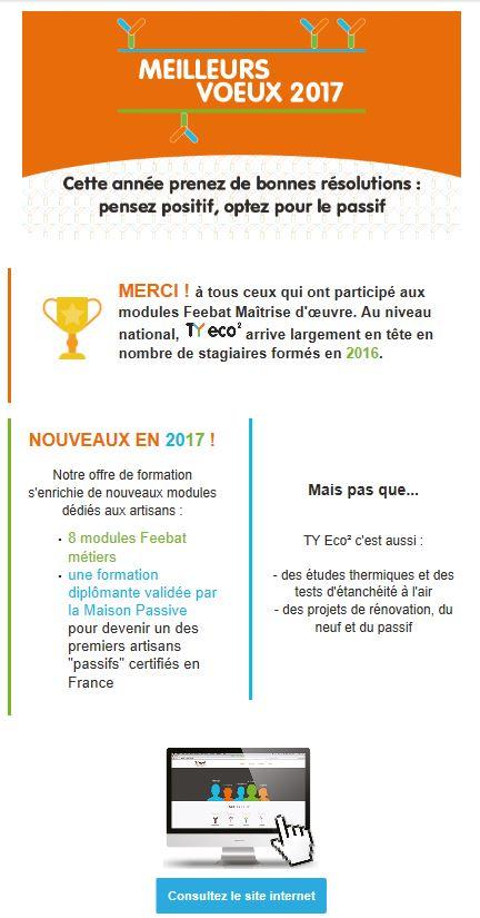 TY eco² vous souhaite une #bonneannée2017 ! <br>http://pic.twitter.com/qsojD5oYvv