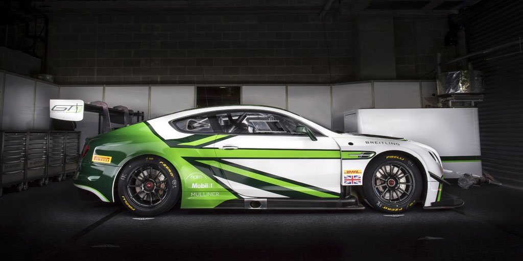 Bentley reveals new 2017 #Motorsport livery.