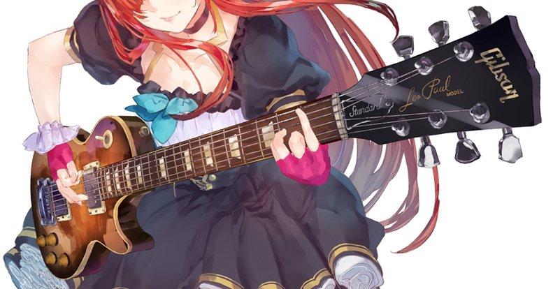 なんだか描くのに時間かかっちゃいましたがとっても楽しかったです。シェリーのギターはギブソン。実際に取…