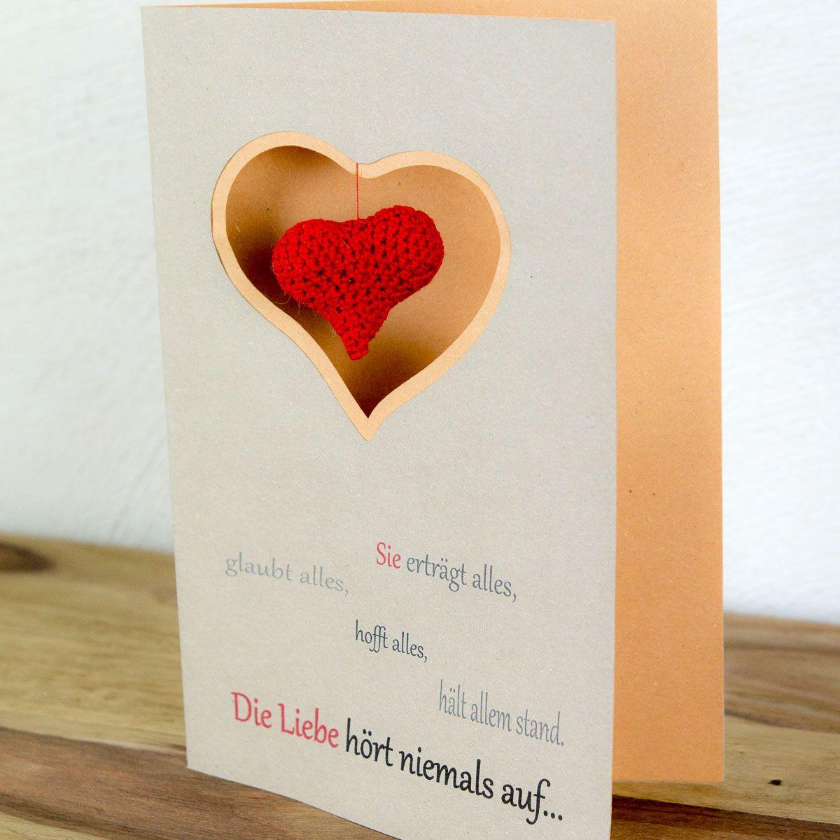 Schön Mit Meiner Besonderen #Valentinskarte Mit Gehäkeltem #Herz  Http://buff.ly/2l0z2HB #valentine #valentinstag  #liebepic.twitter.com/iZsFTAGFEi
