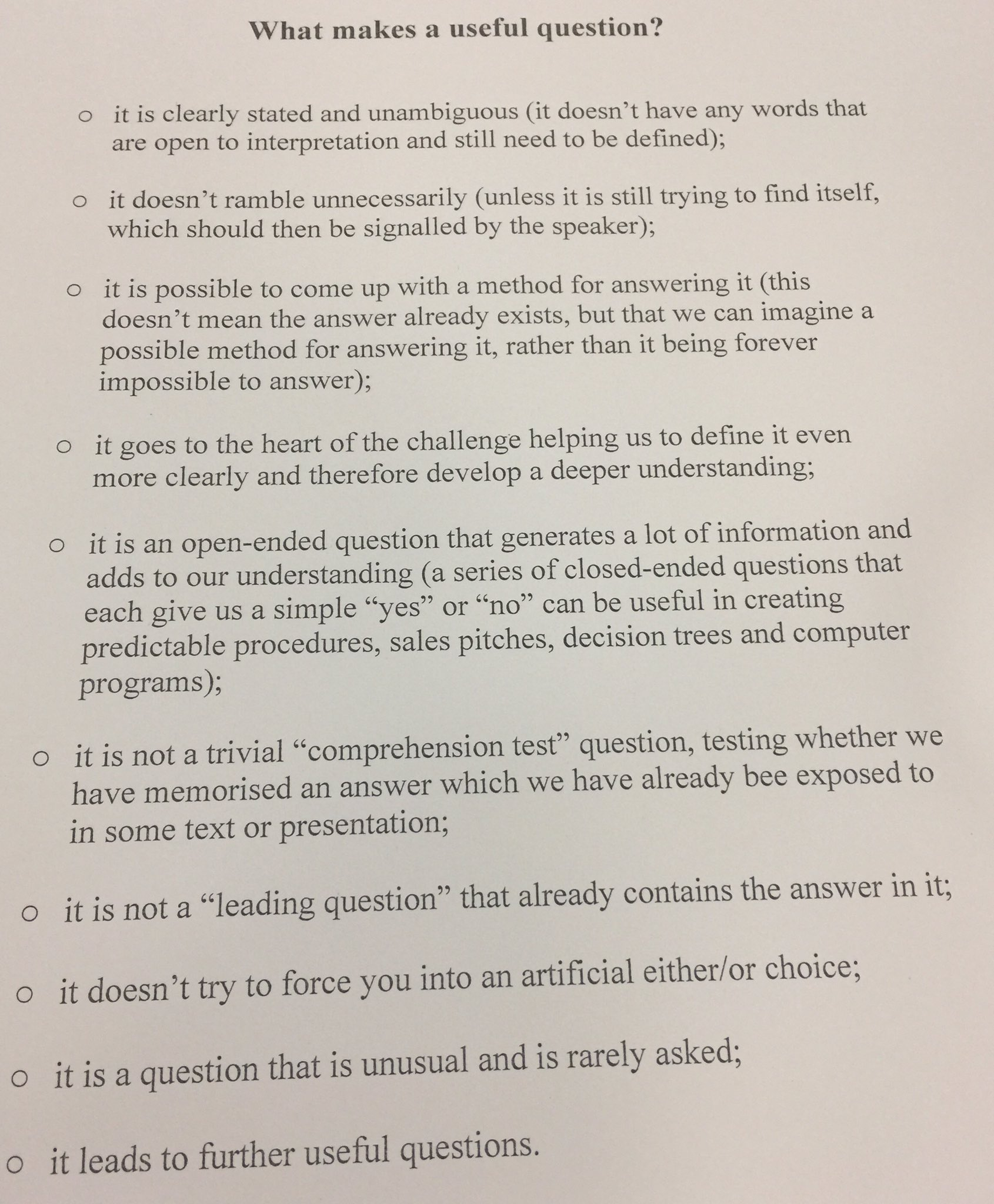 define leading question