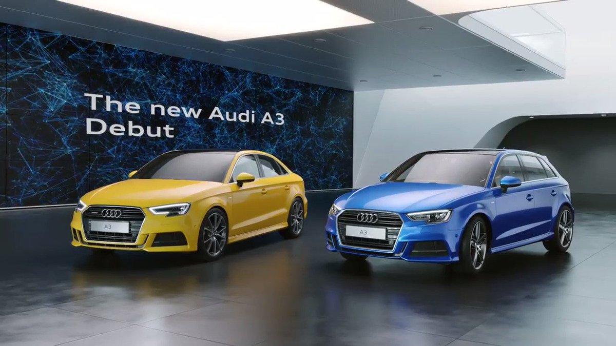 新型Audi A3デビューキャンペーン実施中!抽選で50名様にAudiオリジナルスピーカーが当たる。フォロー&リツイートで、すぐ結果が分かります。 #AudiA3デビュー  詳細→ https://t.co/KkL14ZKSA9 https://t.co/nq8o2iutrU