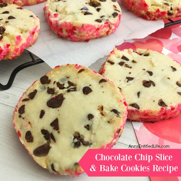 Chocolate Chip Slice and Bake Cookies Recipe