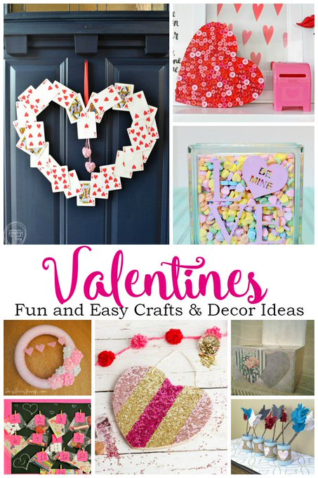 Fun Valentine's Decor Ideas + Create and Crave #70