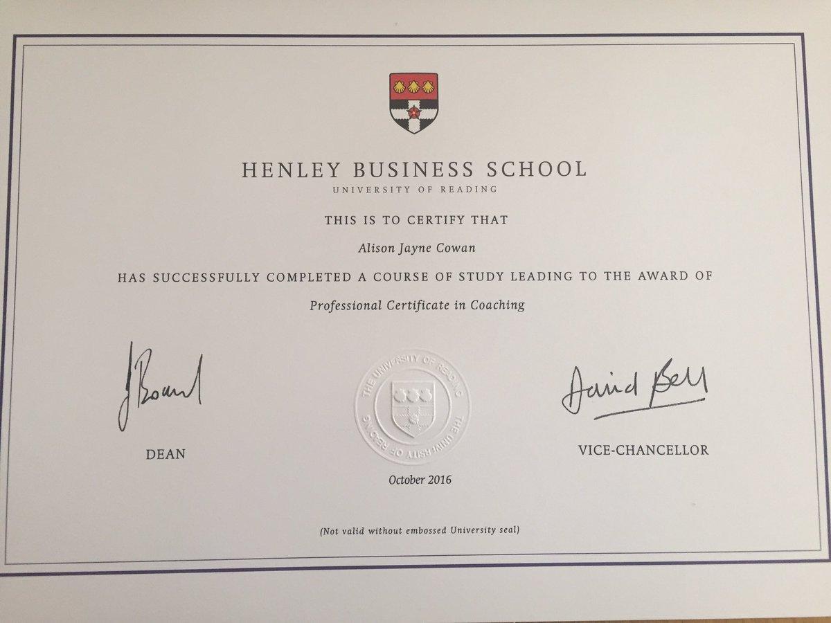 Henley Business School On Twitter Congratulations Hard Work