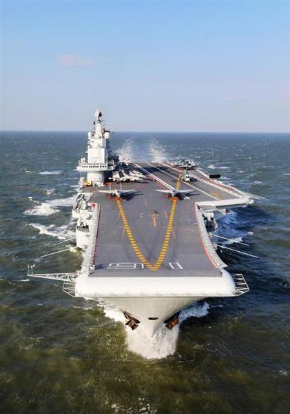 中国が台湾へ警告「空母に接近するな」 情報漏えい装い心理戦に利用か sankei.com/world…
