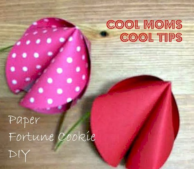 Celebrate Chinese New Year With DIY Paper Fortune Cookies