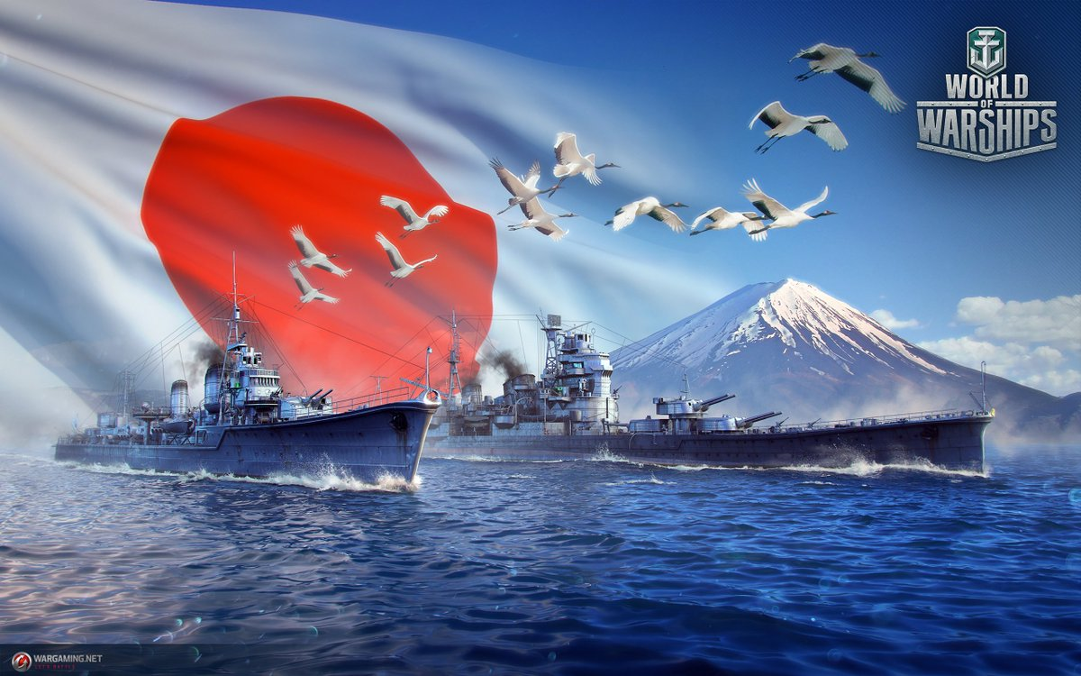 World Of Warships On Twitter Shadows War Worldofwarships Wargaming WoWS Wallpapers Japan