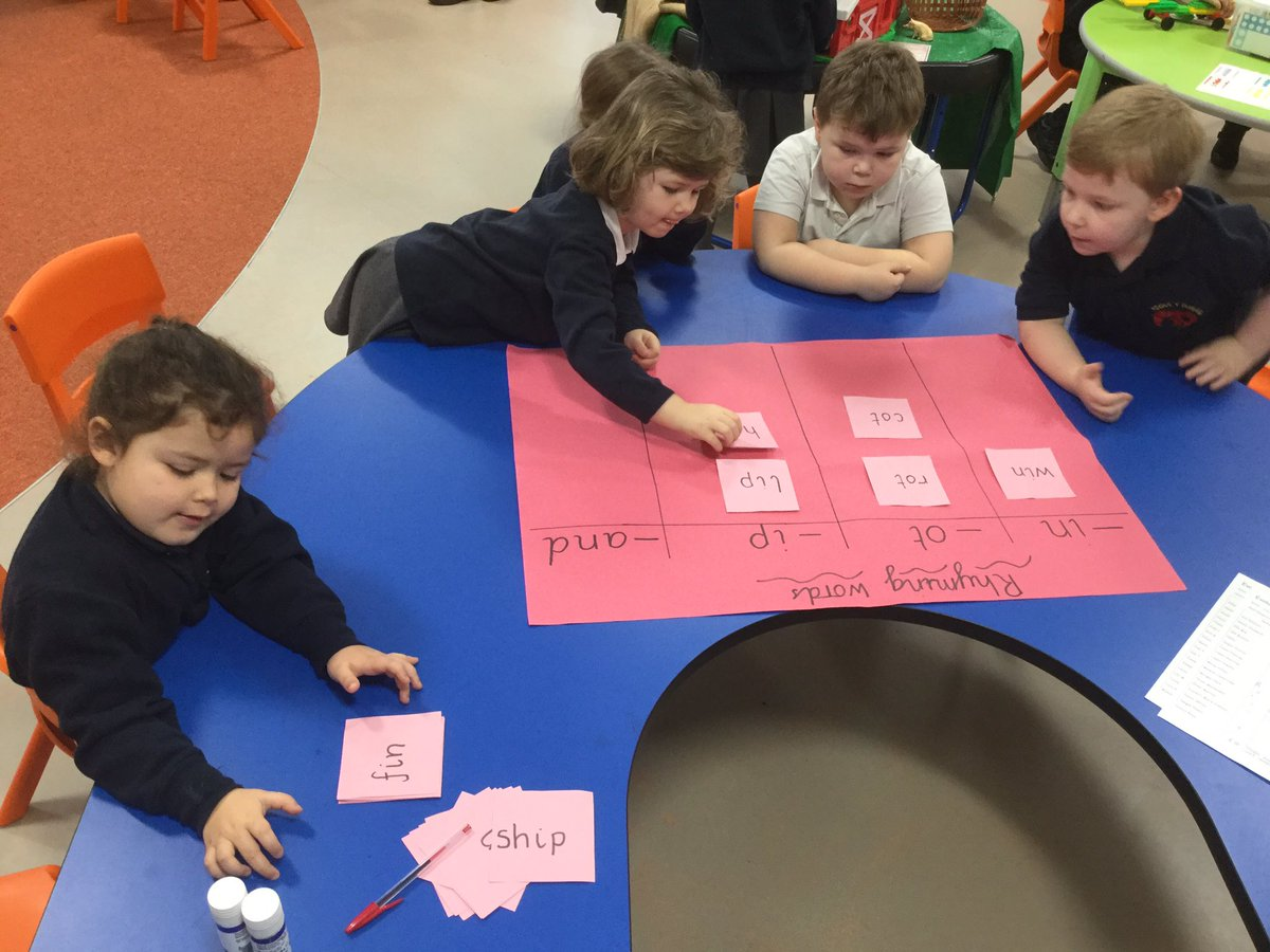 Worksheet Words Rhyming With Today hensol sur topsy fr ogwr have been busy sorting rhyming words today we had to listen very carefully and tried spot the same letter endings
