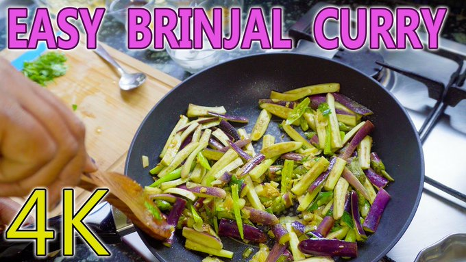 Tasty & Super Easy Brinjal Curry Recipe in Minutes