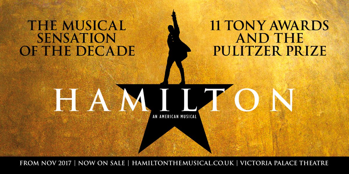 Image result for hamilton musical london