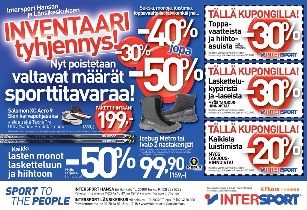 Intersport Suksihuolto